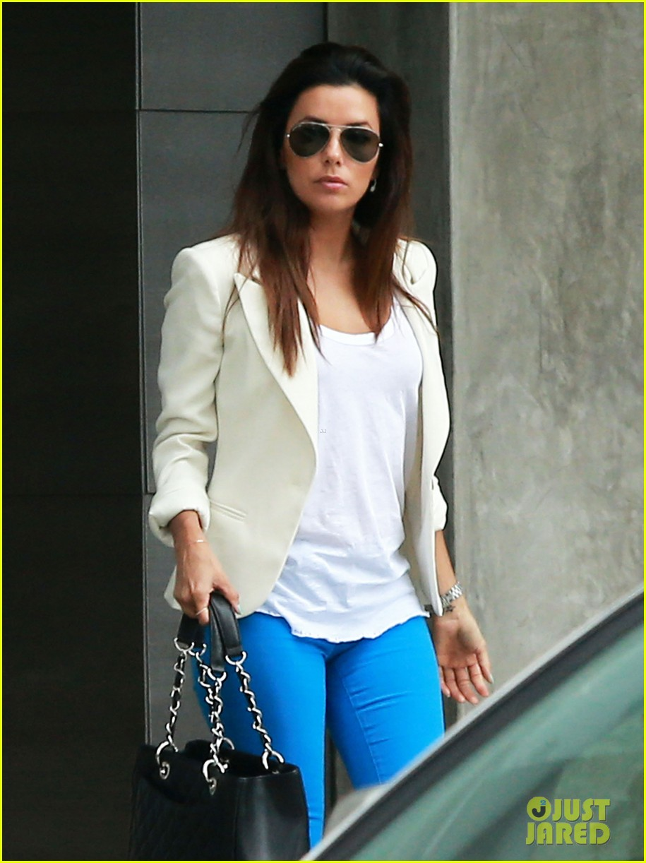 eva longoria errands before food chains fundraiser 102857901