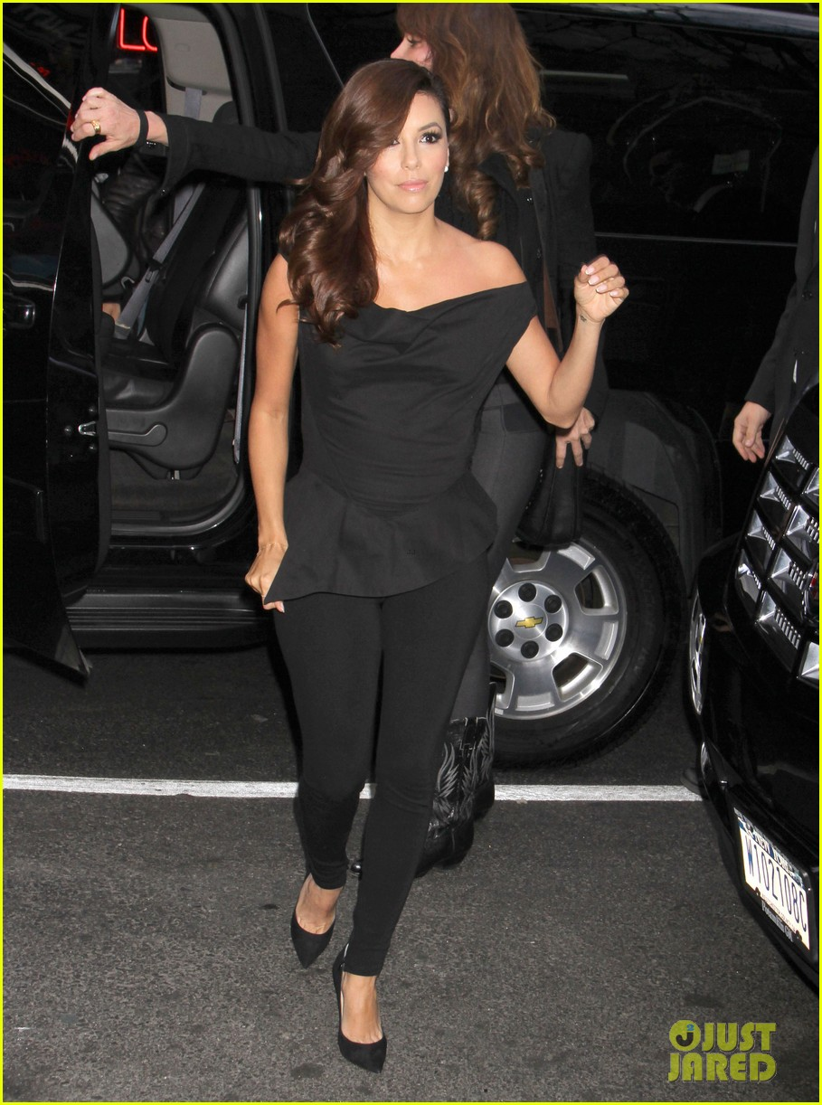 eva longoria morning show appearance in new york city 012845678