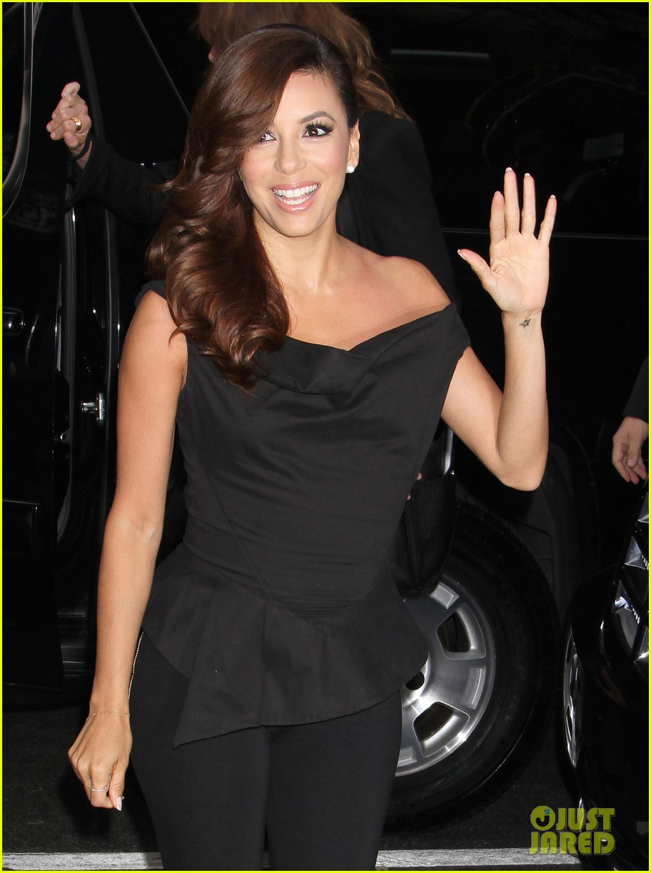 eva longoria morning show appearance in new york city 022845679