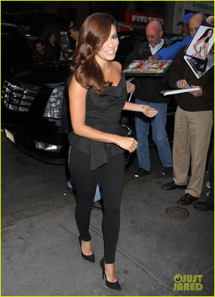 eva longoria morning show appearance in new york city 09