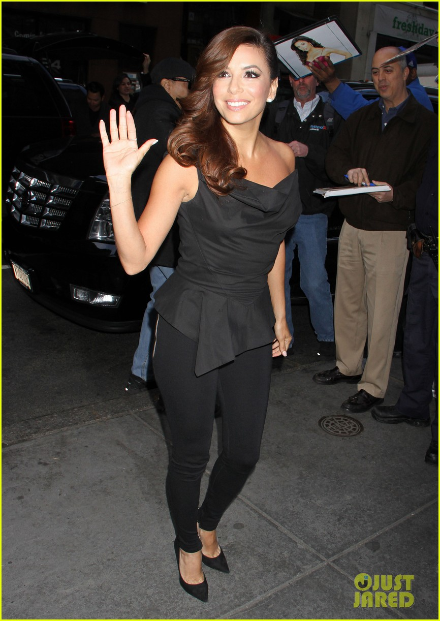 eva longoria morning show appearance in new york city 102845687