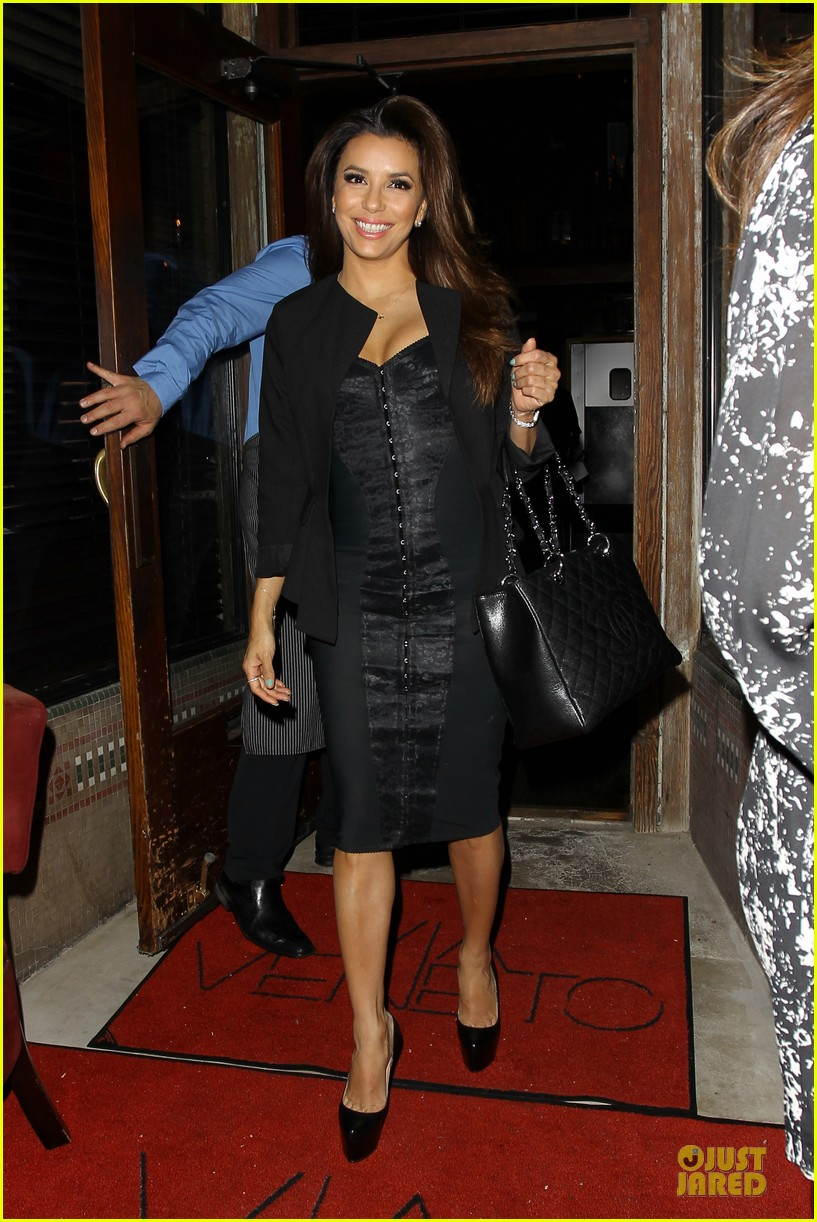 eva longoria san antonio spurs dinner 242859005
