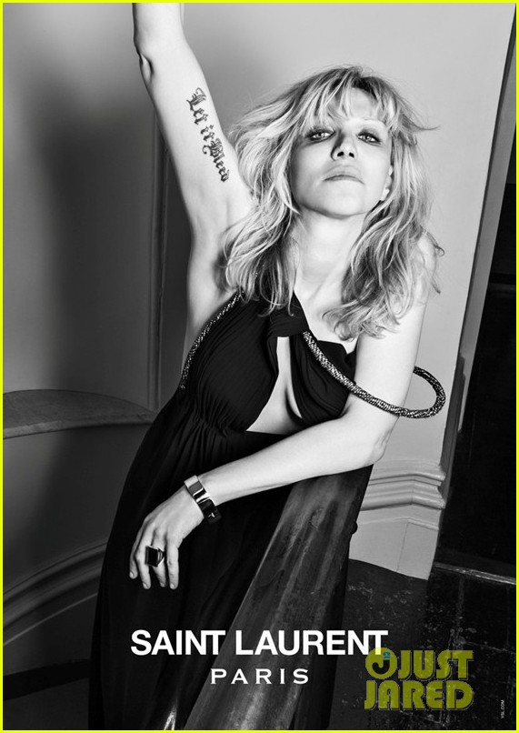 courtney love marilyn manson st laurent music project campaign 082842615