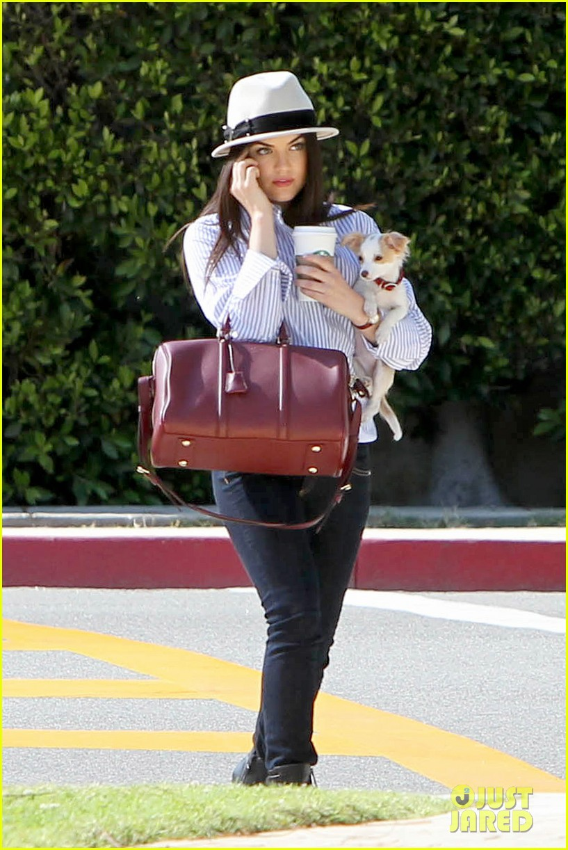 lucy hale photo shoot pretty with puppy 012844848
