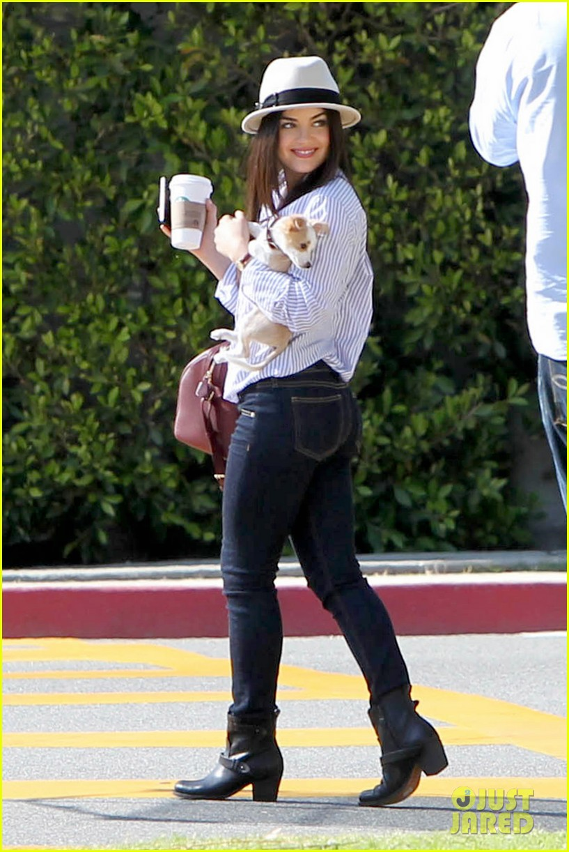 lucy hale photo shoot pretty with puppy 052844852