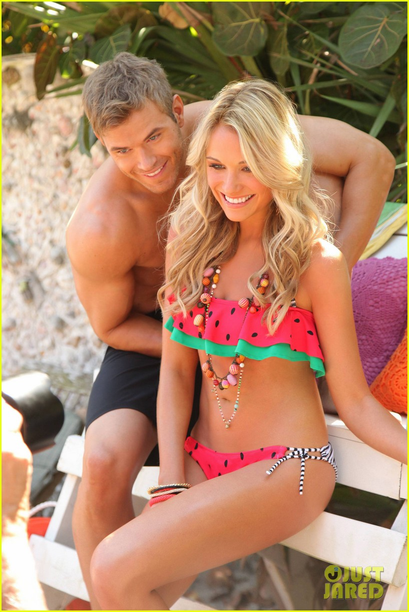 kellan lutz shirtless op campaign with bikini katrina bowden 062846880