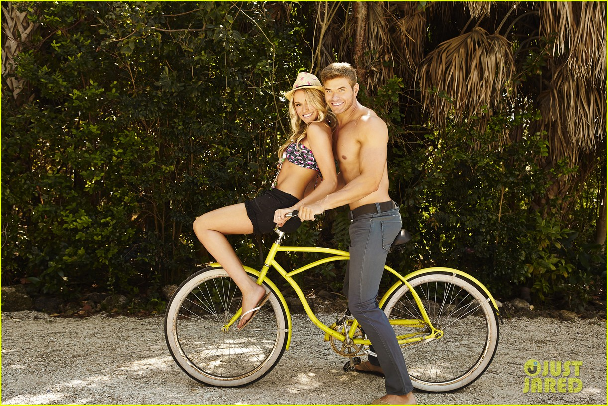 kellan lutz shirtless op campaign with bikini katrina bowden 102846884