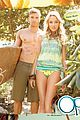 kellan lutz shirtless op campaign with bikini katrina bowden 05