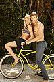kellan lutz shirtless op campaign with bikini katrina bowden 10