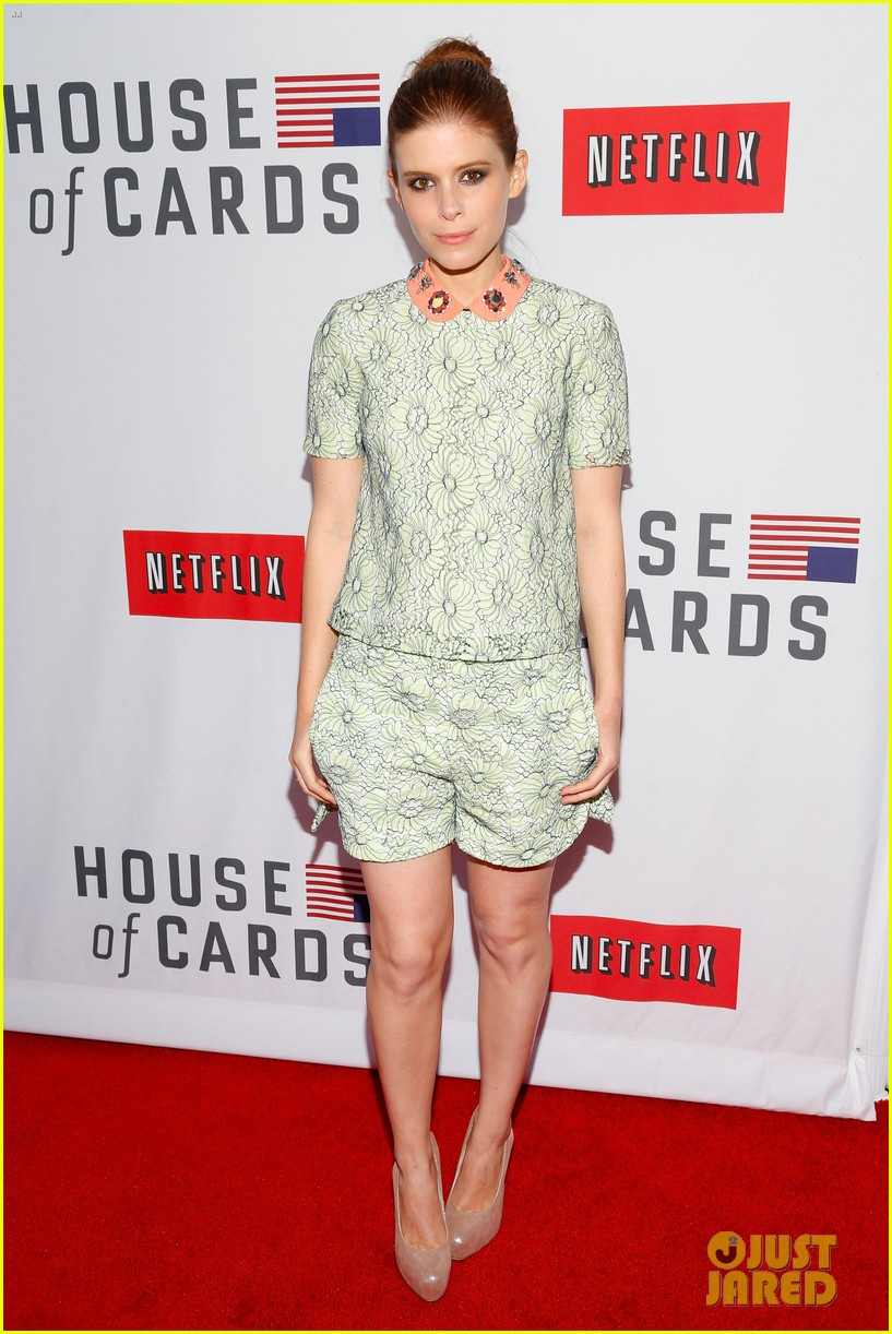 kate mara kevin spacey house of cards qa event 122858547