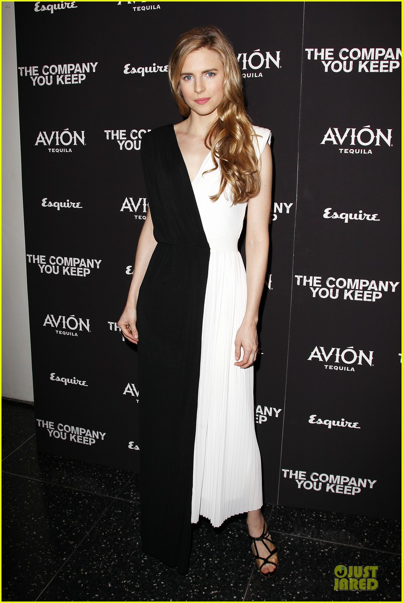 brit marling stanley tucci the company you keep new york premiere 012841779