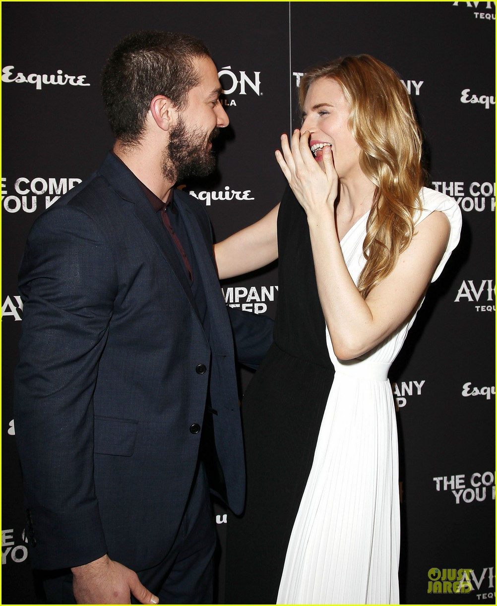 brit marling stanley tucci the company you keep new york premiere 022841780