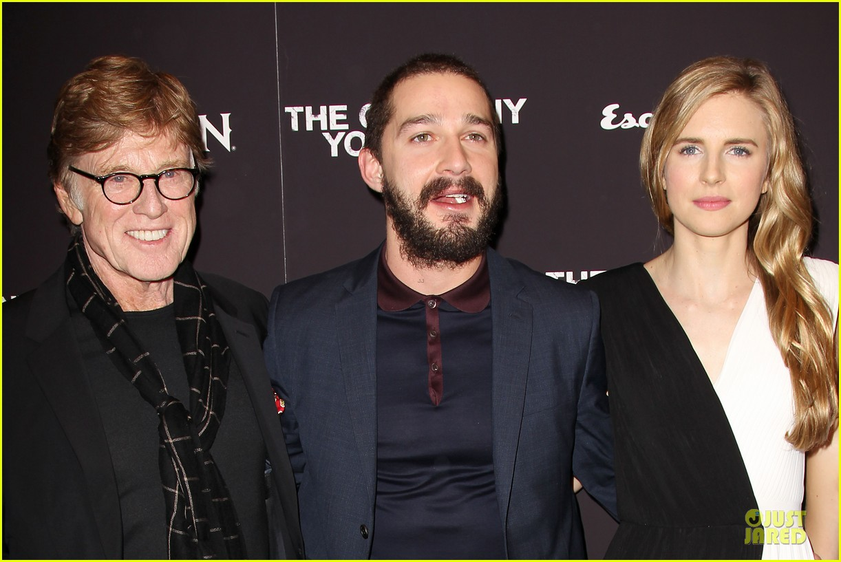 brit marling stanley tucci the company you keep new york premiere 072841785