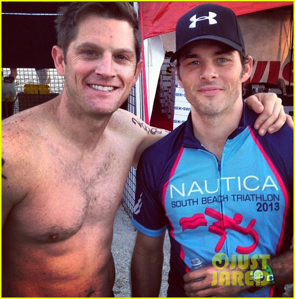 james marsden geoff stults nautica triahtlon in miami 062845646