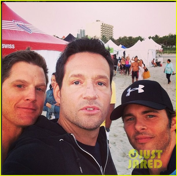 james marsden geoff stults nautica triahtlon in miami 072845647
