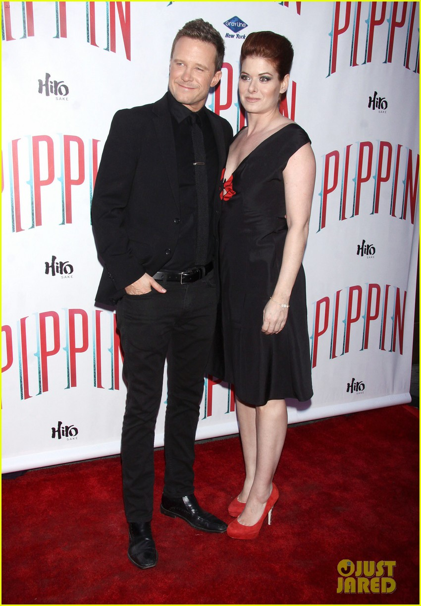 ricky martin debra messing pippin broadway opening 112858265