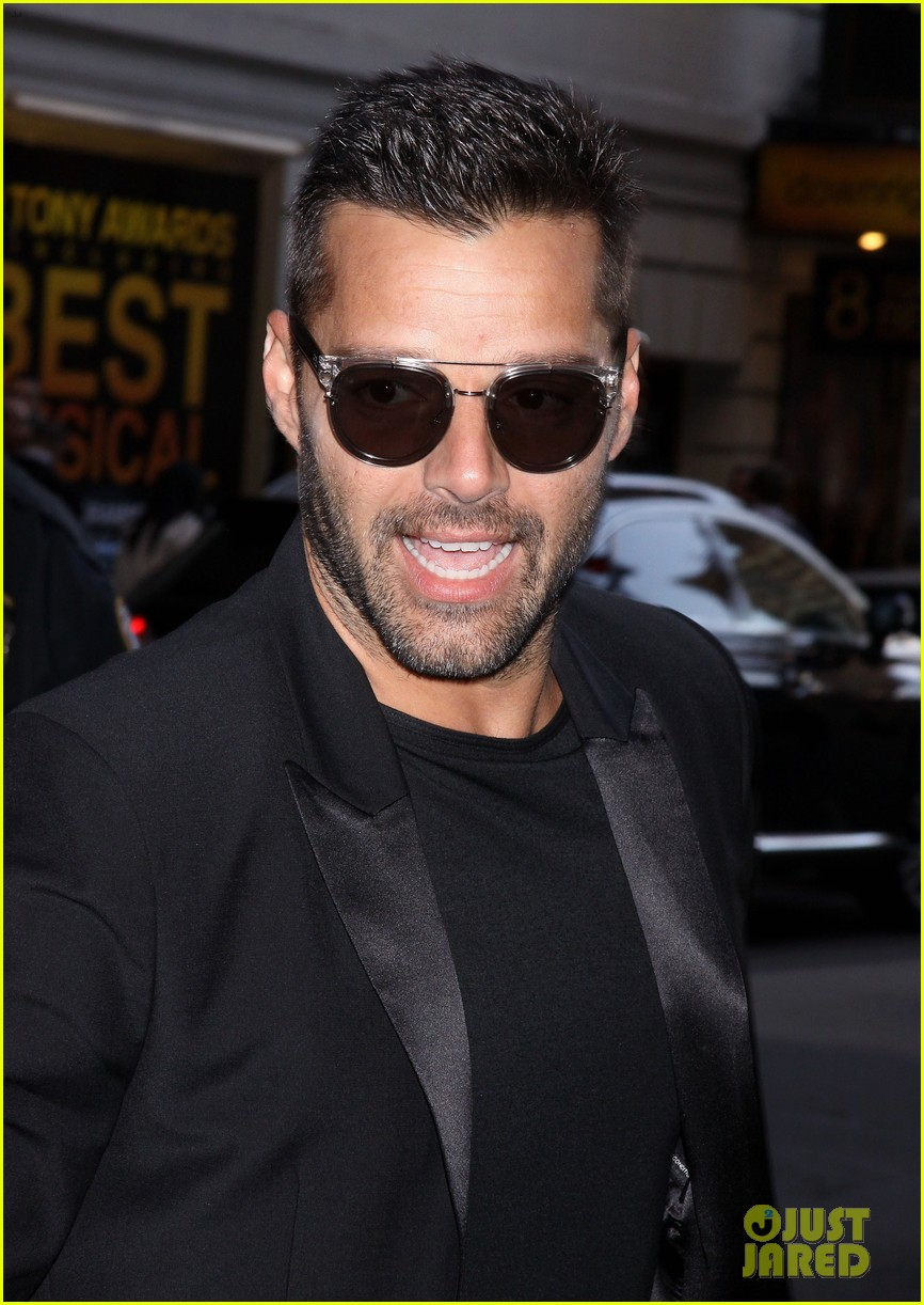 ricky martin debra messing pippin broadway opening 162858270