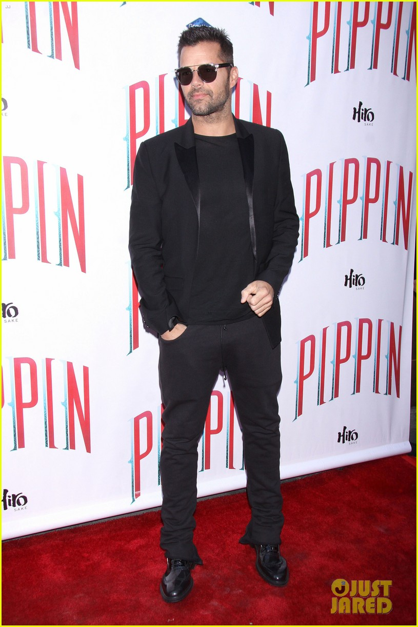 ricky martin debra messing pippin broadway opening 19