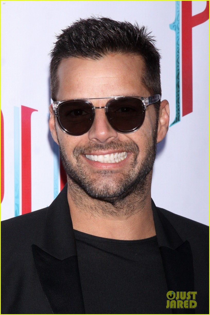 ricky martin debra messing pippin broadway opening 20