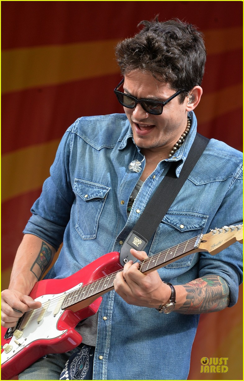 john mayer new orleans jazz heritage music festival 062859246