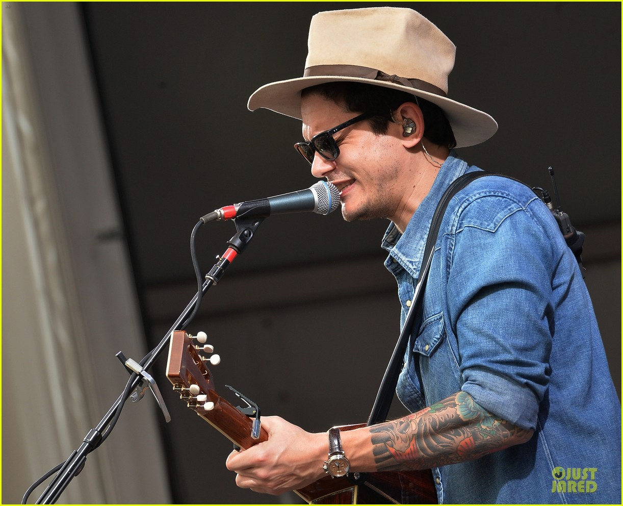 john mayer new orleans jazz heritage music festival 202859260