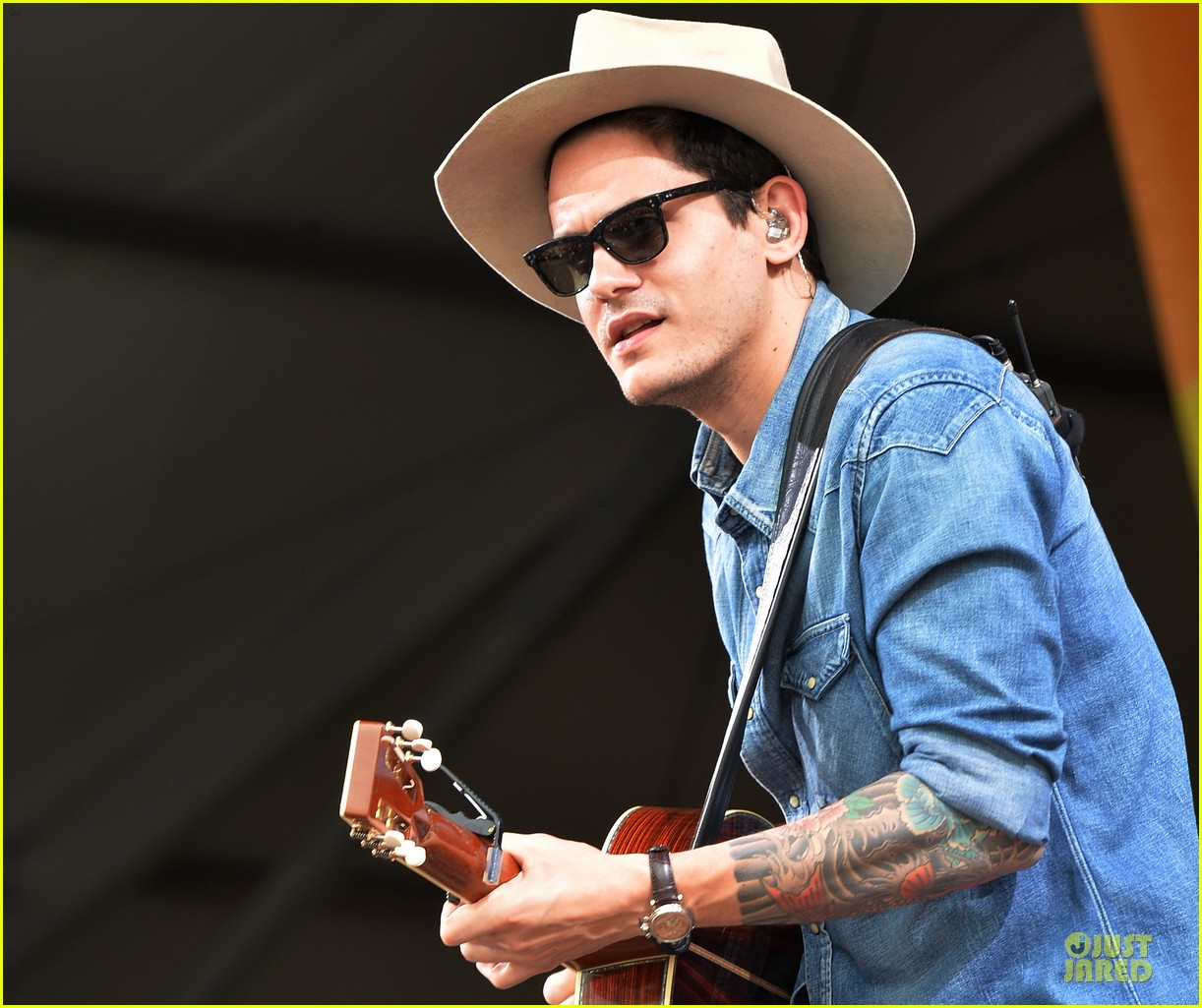 john mayer new orleans jazz heritage music festival 212859261