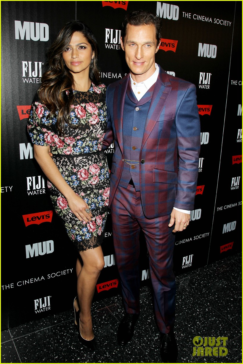 matthew mcconaughey mud screening with camila alves 082855220