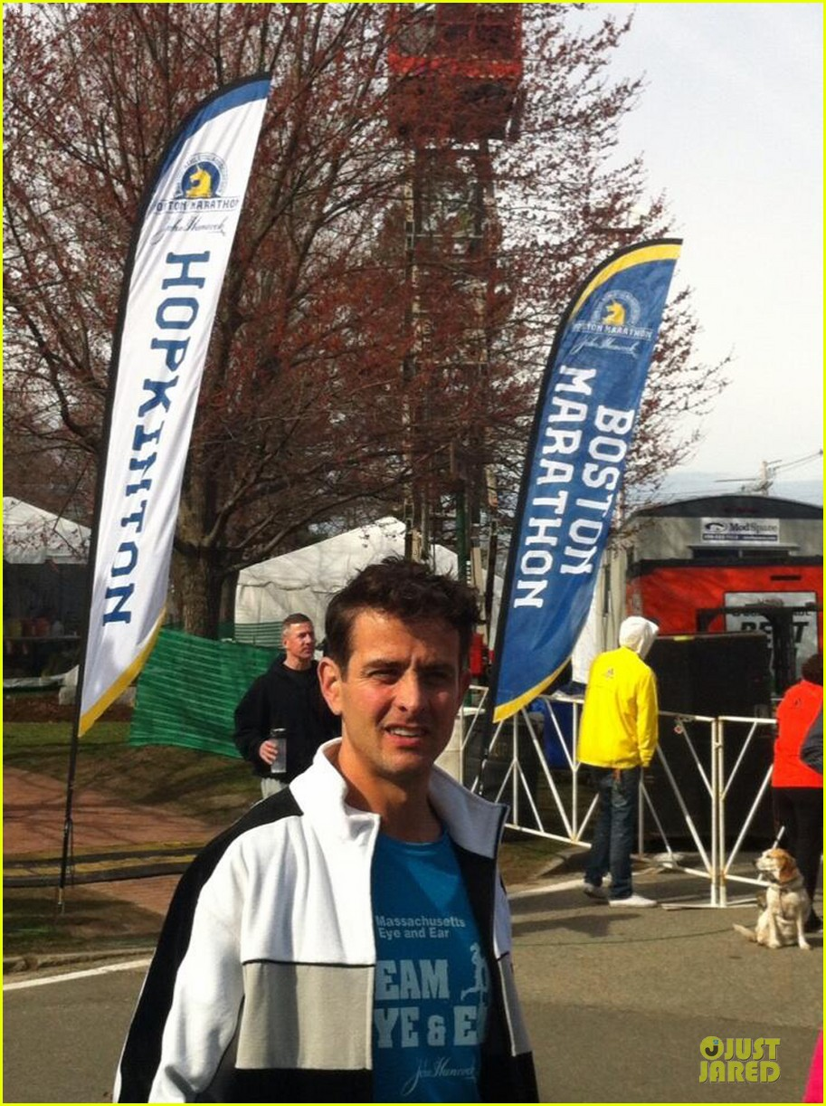 joey mcintyre missed boston marathon explosion by minutes 042850833