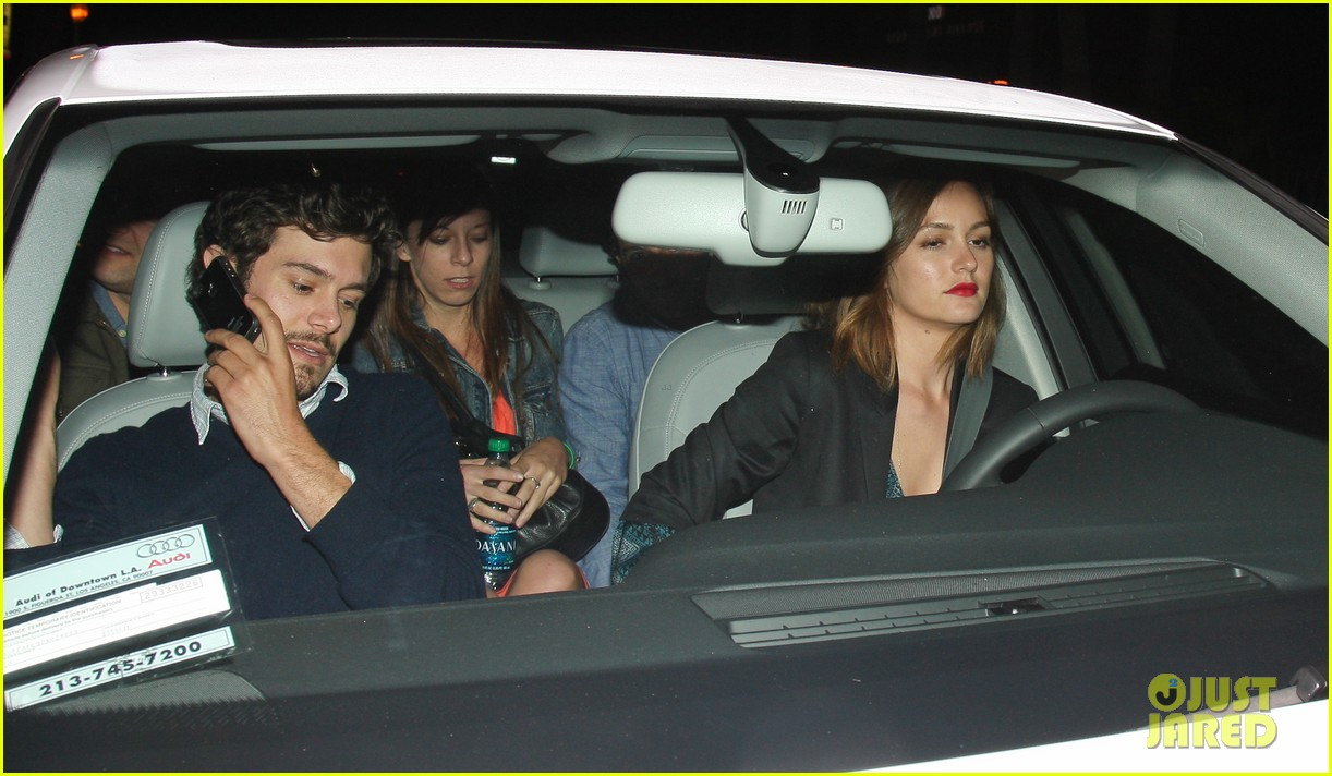 leighton meester adam brody arclight movie date with pals 06
