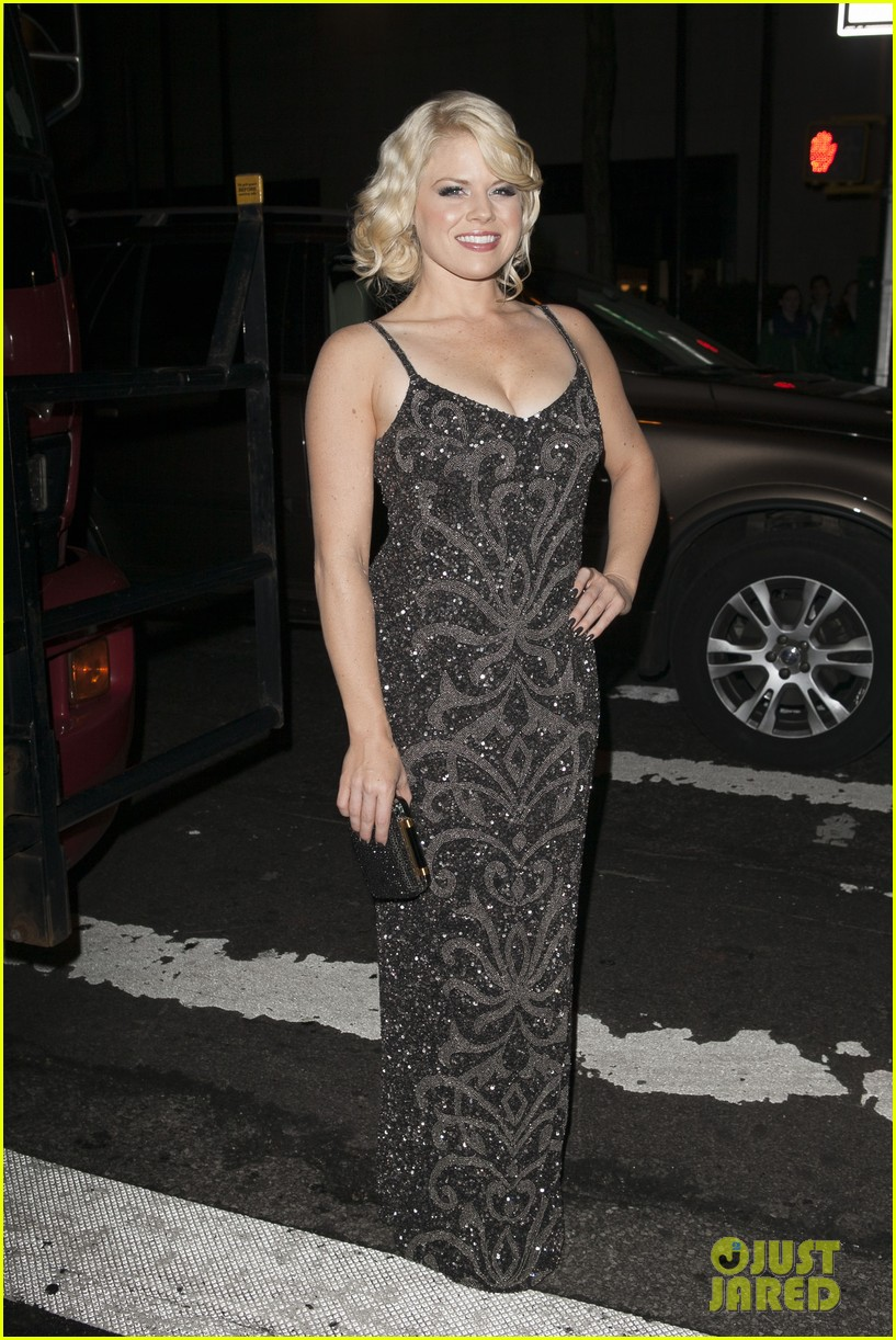 megan hilty aaron tveit jekyll hyde opening night 072853635