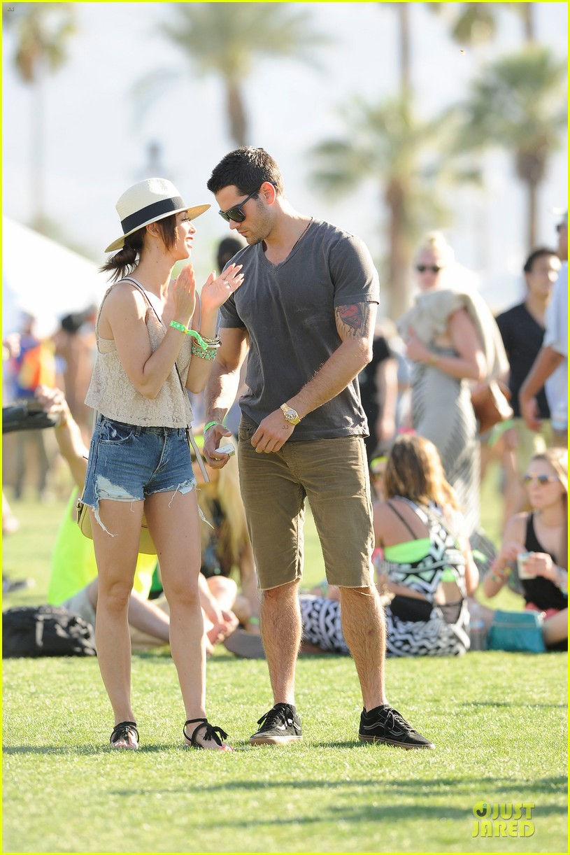 jesse metcalfe josh henderson justjared armani exchange music festival brunch 072848946