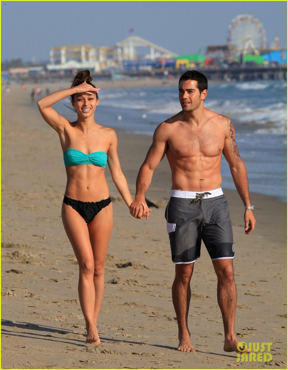 jesse metcalfe shirtless six pack beach stud 202860642