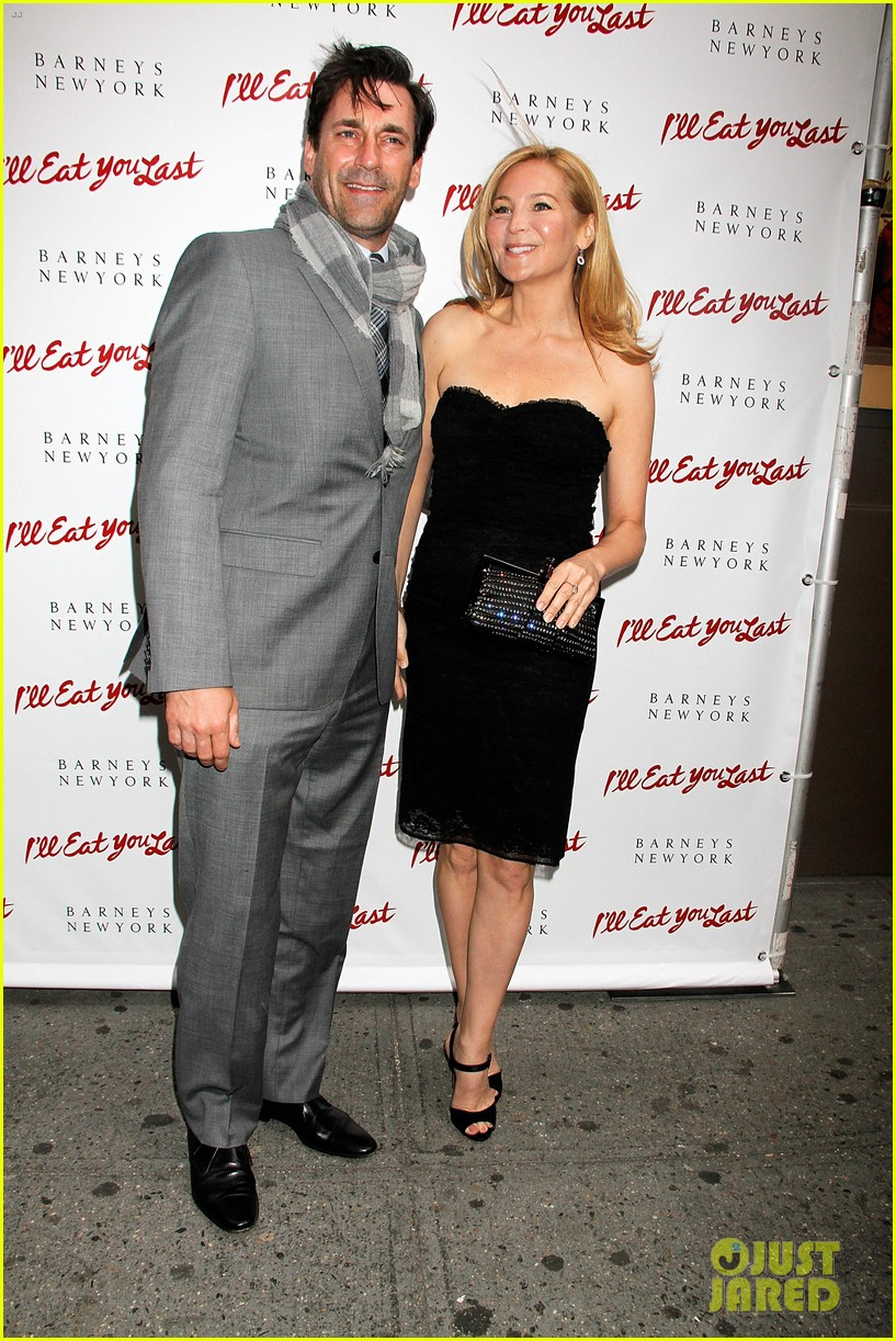 jon hamm bette midler ill eat you last broadway opening 052857681