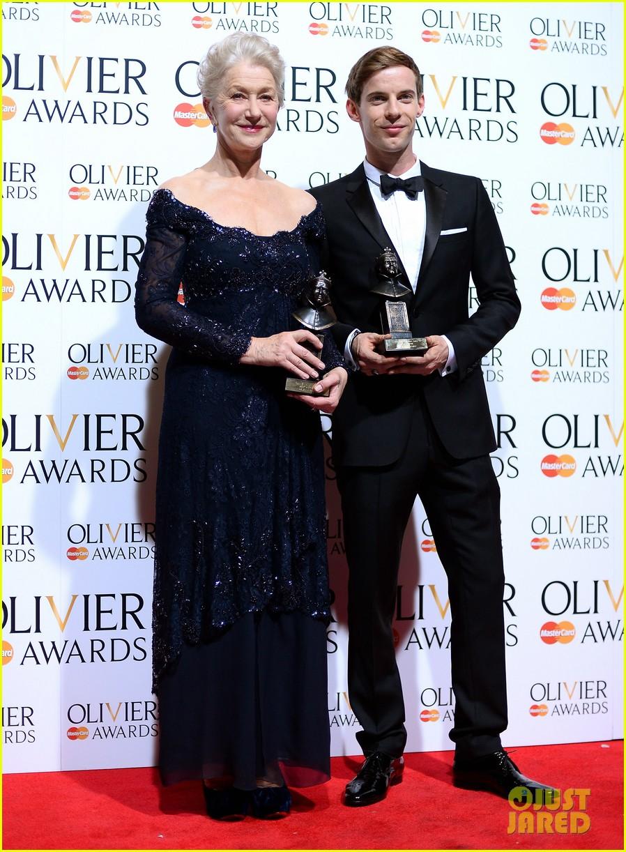 helen mirren damian lewis olivier awards 2013 032860025