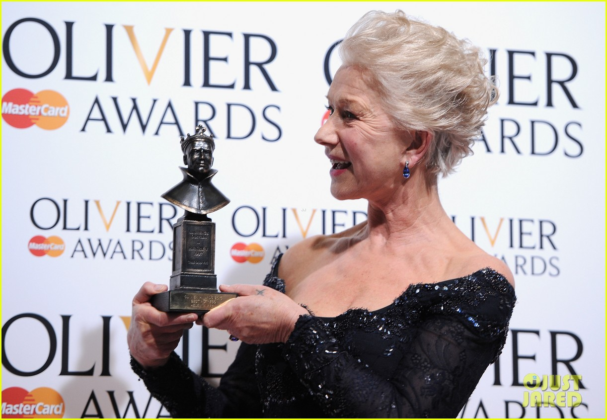 helen mirren damian lewis olivier awards 2013 092860031