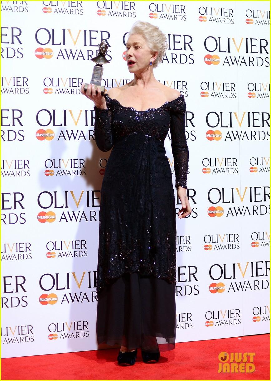 helen mirren damian lewis olivier awards 2013 12