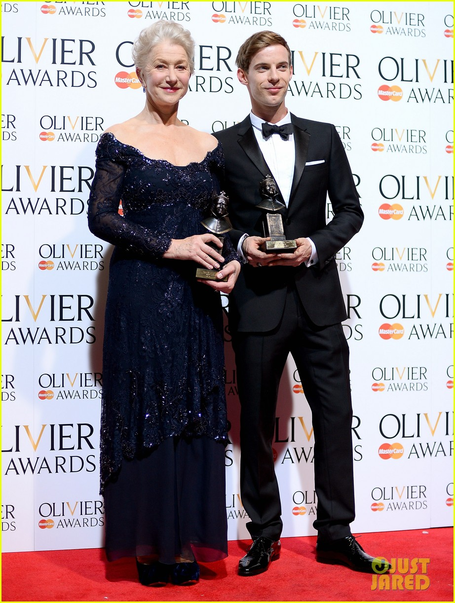 helen mirren damian lewis olivier awards 2013 152860037