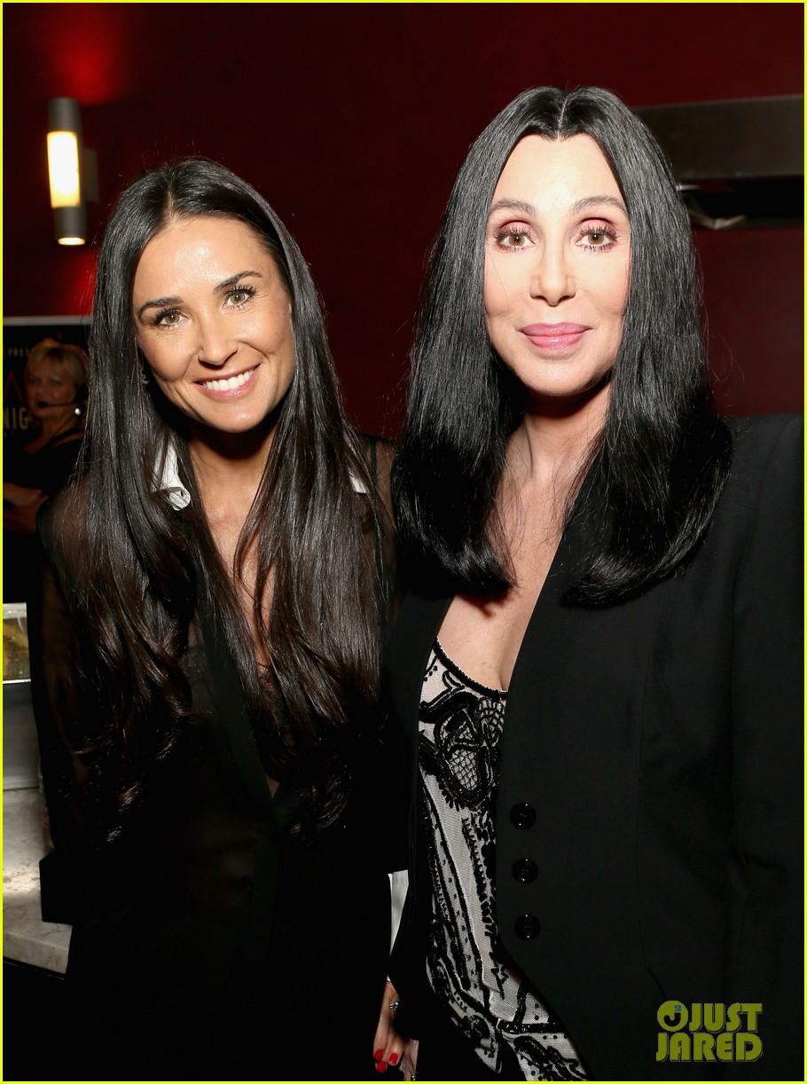 demi moore cher afi night at the movies event 26