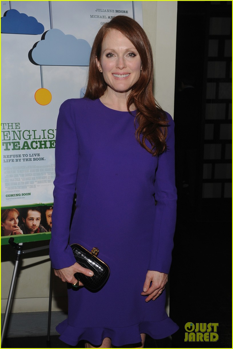 julianne moore english teacher tribeca premiere 022859058