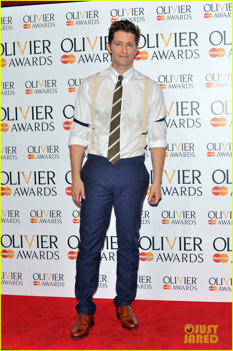 matthew morrison performs west side story at olivier awards 01