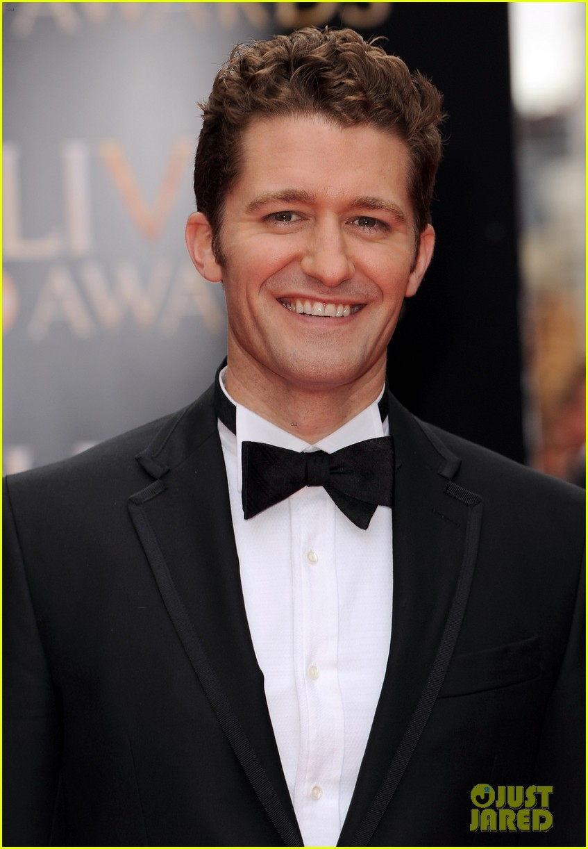 matthew morrison performs west side story at olivier awards 022860416