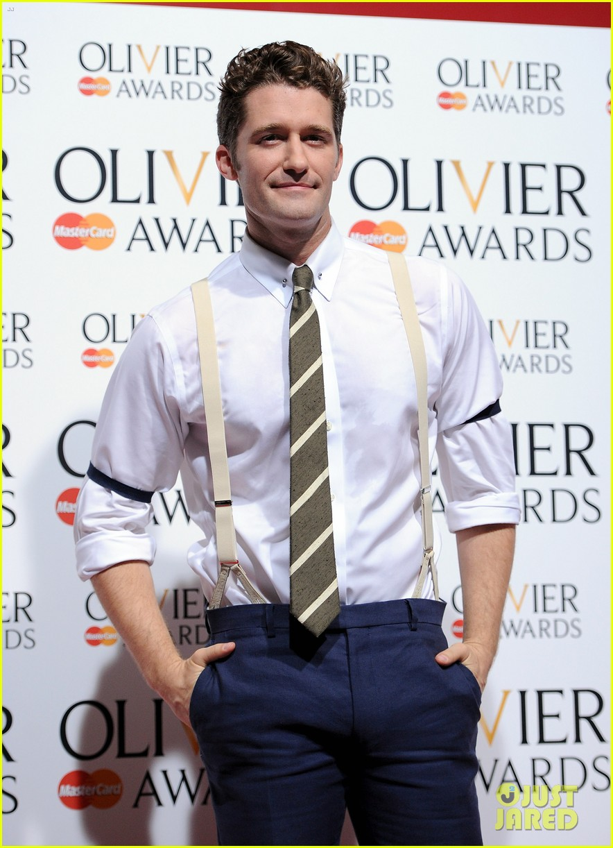 matthew morrison performs west side story at olivier awards 062860420