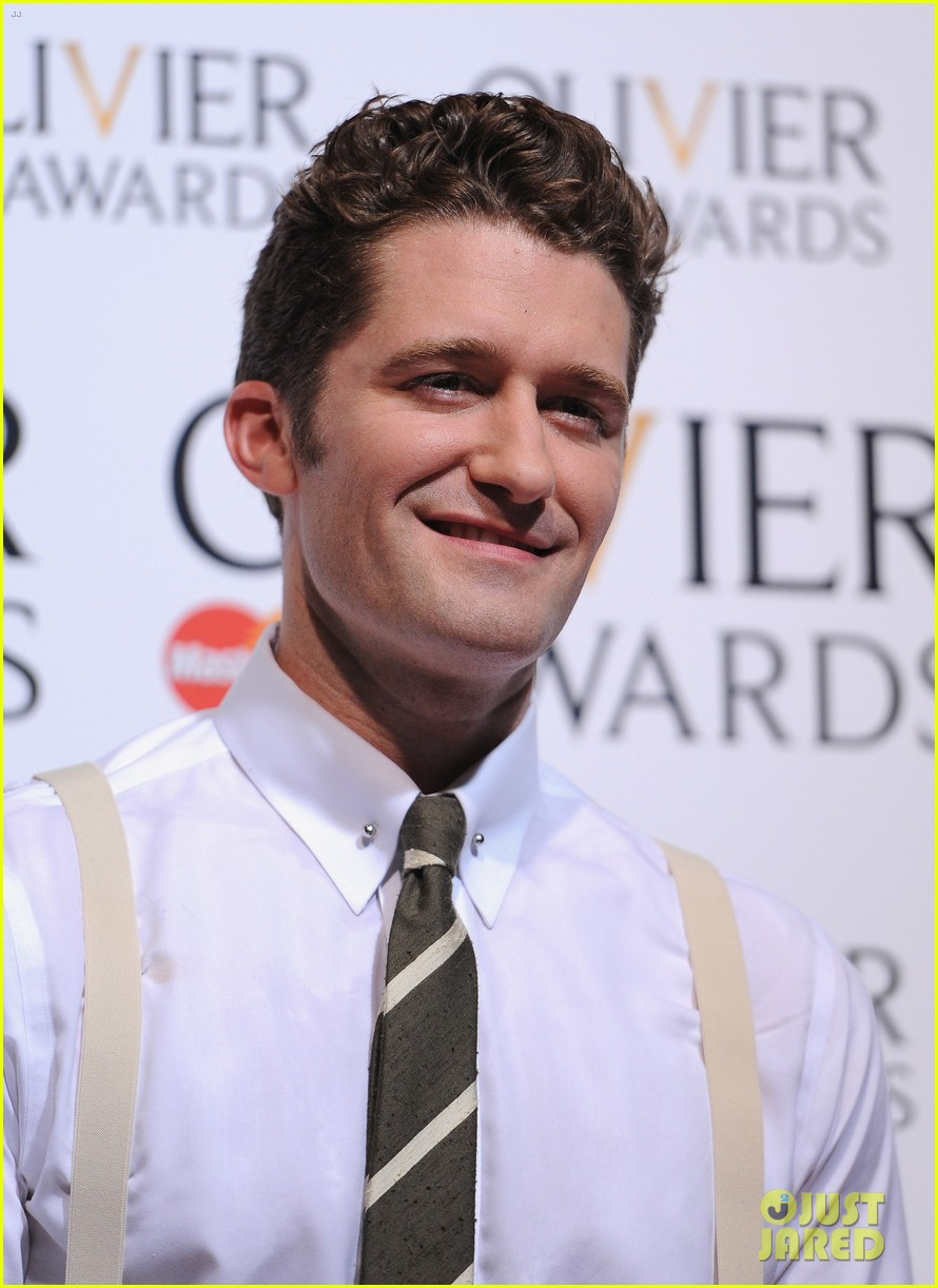 matthew morrison performs west side story at olivier awards 07