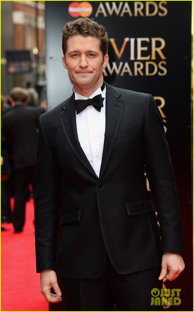 matthew morrison performs west side story at olivier awards 08