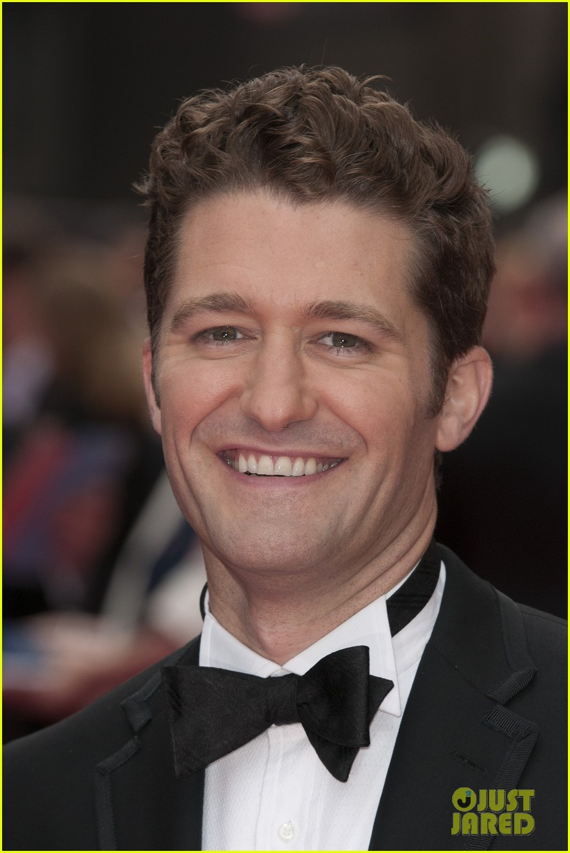 matthew morrison performs west side story at olivier awards 112860425