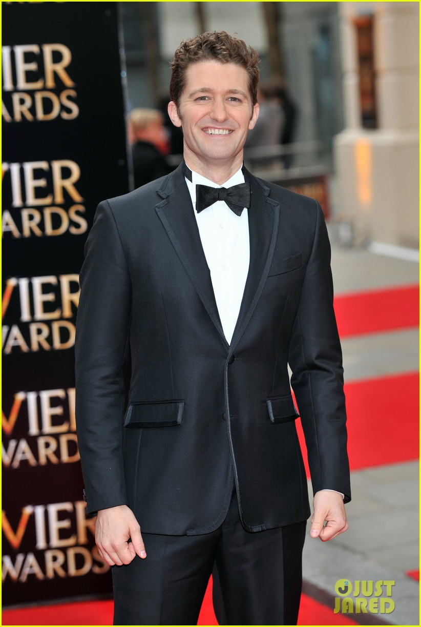 matthew morrison performs west side story at olivier awards 122860426