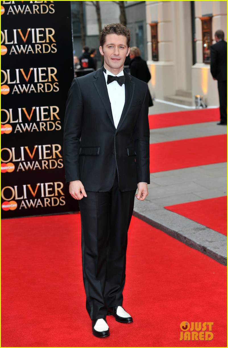 matthew morrison performs west side story at olivier awards 13