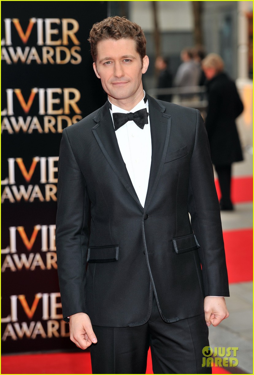 matthew morrison performs west side story at olivier awards 14