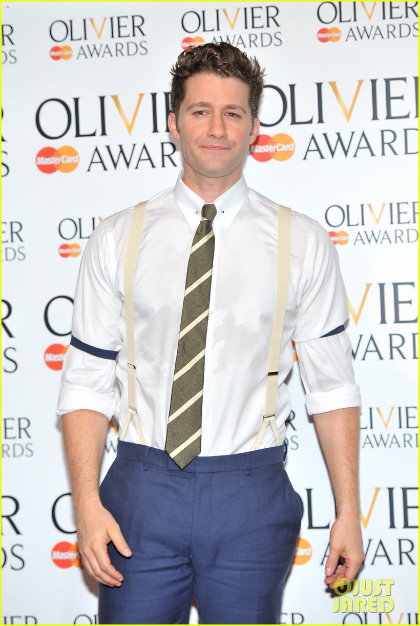 matthew morrison performs west side story at olivier awards 162860430