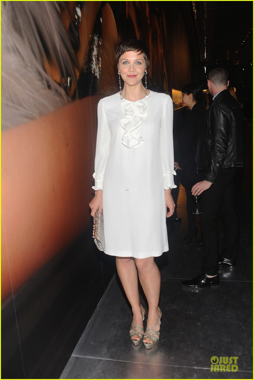 carey mulligan tobey maguire gatsby exhibition opening cocktail party 052861487